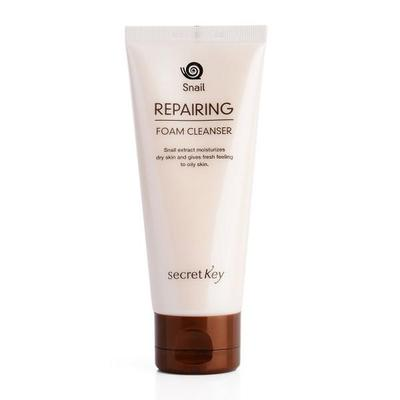 Secret Key Snail Repairing Foam Cleanser - 100ml, Cleanser, SecretKey, Korean Beauty South Africa - Korean Beauty South Africa Kbeauty Korean Skincare k beauty
