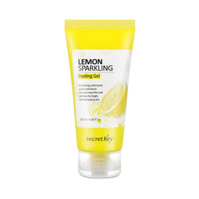 Secretkey Lemon Sparkling Peeling Gel 120ml, Exfoliator, SecretKey, Korean Beauty South Africa - Korean Beauty South Africa Kbeauty Korean Skincare k beauty