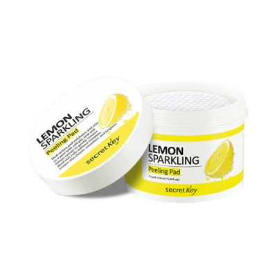 Secret Key Lemon Sparkling Peeling Pad - 1pack (70pcs), Exfoliator, SecretKey, Korean Beauty South Africa - Korean Beauty South Africa Kbeauty Korean Skincare k beauty