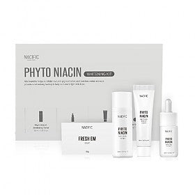 Phyto Niacin Whitening Mini Kit (Soap 30g+Toner 30ml+Essence 10ml+Cream 20ml)