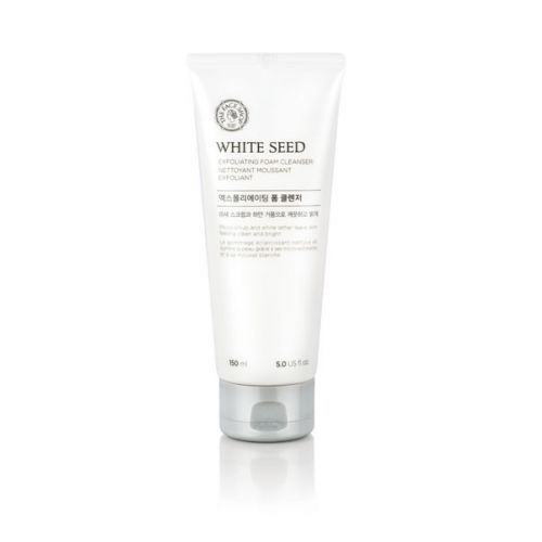 The Face Shop White Seed Exfoliating Foam Cleanser 150ml, Cleanser, THEFACESHOP, Korean Skincare & Beauty South Africa - Korean Beauty South Africa Kbeauty Korean Skincare k beauty