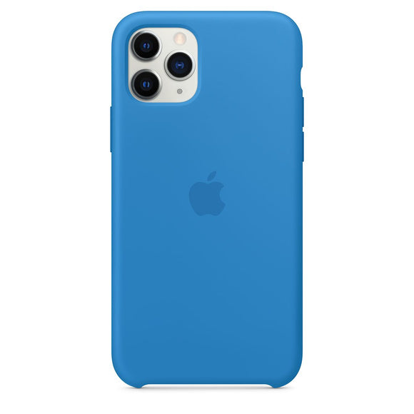 Resigilat - Husa de Silicon Apple iPhone 11 PRO - Surf Blue