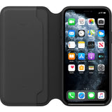 Husa Apple iPhone 11 Pro Leather Folio Black