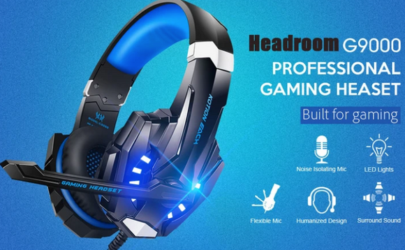 Casti de GAMING PROFESIONALE G9000 HIGH QUALITY