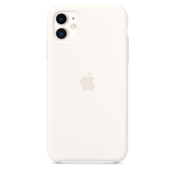 Resigilat - Husa de Silicon Apple iPhone 11 - White