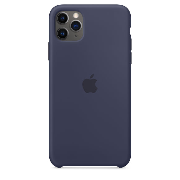 Resigilat - Husa de Silicon Apple iPhone 11 PRO MAX - Midnight blue