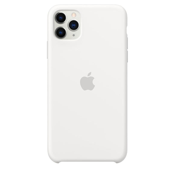 Resigilat - Husa de Silicon Apple iPhone 11 PRO - White