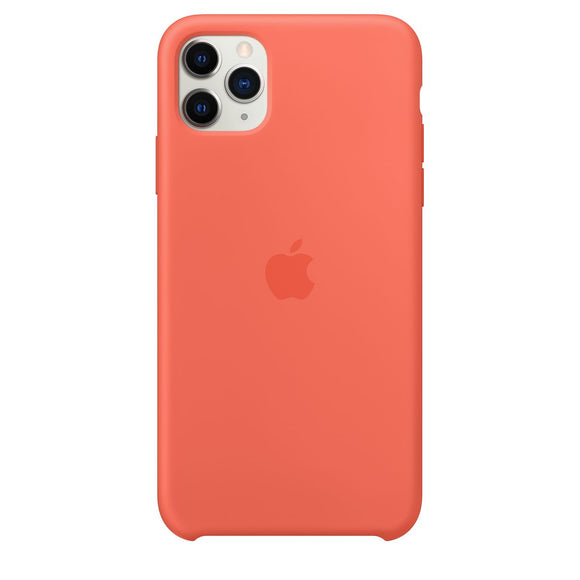 Resigilat - Husa de Silicon Apple iPhone 11 PRO MAX - Clementine