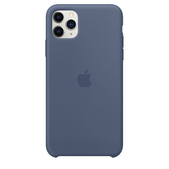 Resigilat - Husa de Silicon Apple iPhone 11 PRO MAX - Alaskan Blue