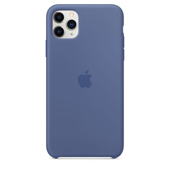 Resigilat - Husa de Silicon Apple iPhone 11 PRO MAX - Linen Blue