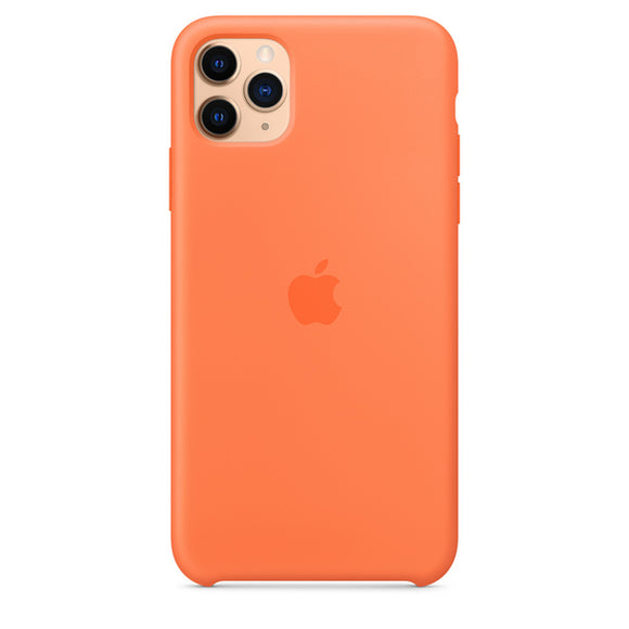 Resigilat - Husa de Silicon Apple iPhone 11 PRO MAX - Vitamin C