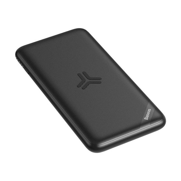 Baterie Externa Wireless 10000mAh Baseus S10 Bracket 18W Neagra - Trendmobile