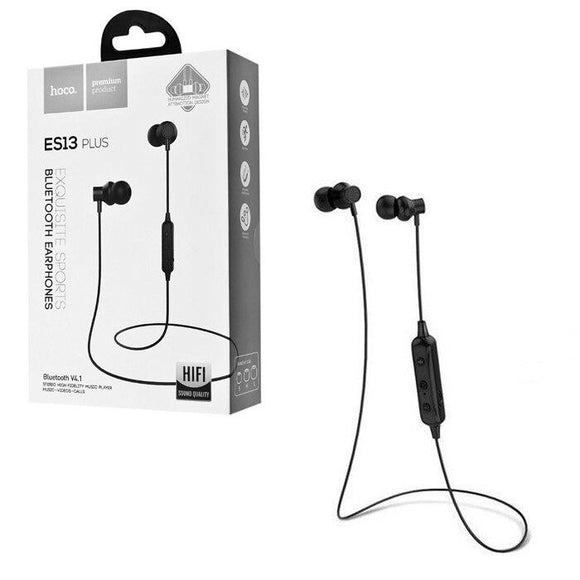 Casti sporting cu bluetooth Hoco ES13 Plus Negre - Trendmobile