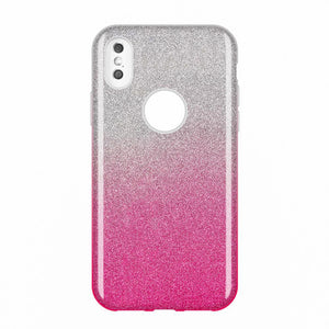Husa Wozinsky Glitter Case Shining Cover for iPhone XS Max roz