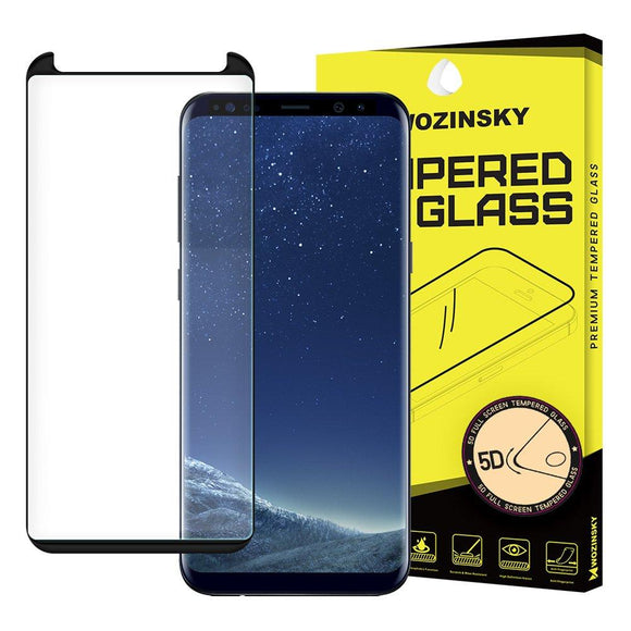 Folie de sticla Wozinsky Tempered Glass 5D  pentru Samsung Galaxy S9 Plus black - Trendmobile