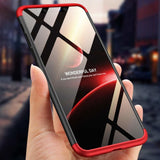 Husa 360 GKK Samsung Galaxy iPhone XR- Black-Red - Trendmobile