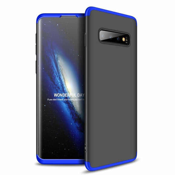 Husa 360 GKK Samsung Galaxy S10 - Black-Blue - Trendmobile