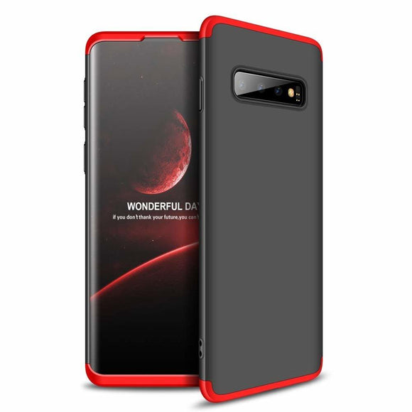Husa 360 GKK Samsung Galaxy S10 - Black-Red - Trendmobile