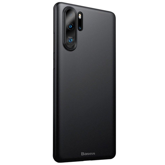 Husa Baseus Wing Huawei P30 Pro Transparent Black - Trendmobile
