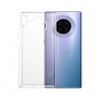 Husa de Silicon Huawei Mate 30 Transparent - Trendmobile