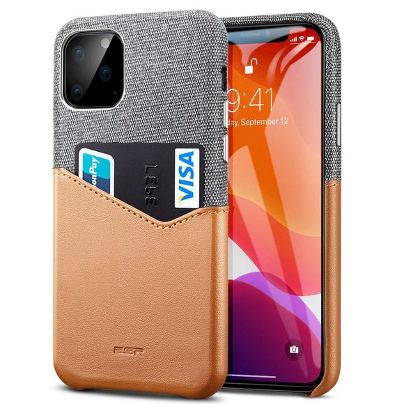 Husa ESR Metro Wallet case for Iphone 11 PRO ( 5.8 ) gray brown - Trendmobile