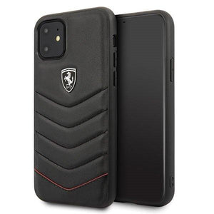 Husa Ferrari Hardcase iPhone 11 Black - Trendmobile