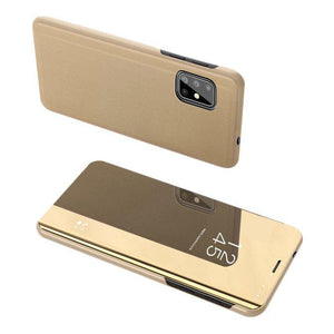 Husa flip Samsung Galaxy S20 Plus Gold - Trendmobile