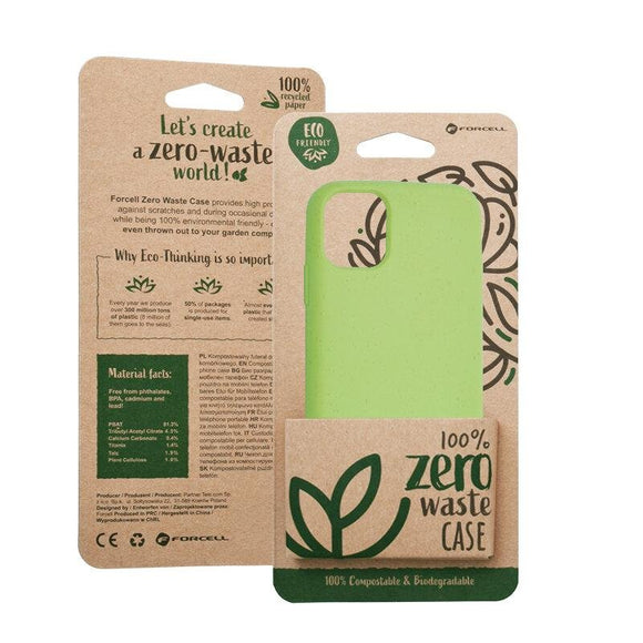 Husa Forcell BIO - Zero Waste Case for IPHONE 11 PRO green - Trendmobile