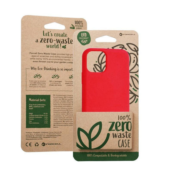 Husa Forcell BIO - Zero Waste Case for IPHONE 11 PRO Max red - Trendmobile