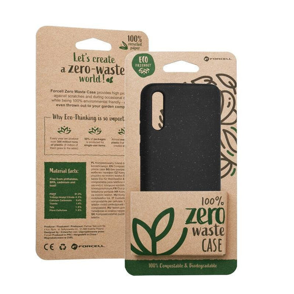 Husa Forcell BIO - Zero Waste Case for SAMSUNG A30S / A50 / A50S black - Trendmobile