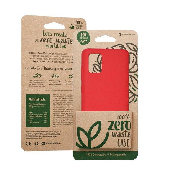 Husa Forcell BIO - Zero Waste Case for SAMSUNG Note 10 red - Trendmobile