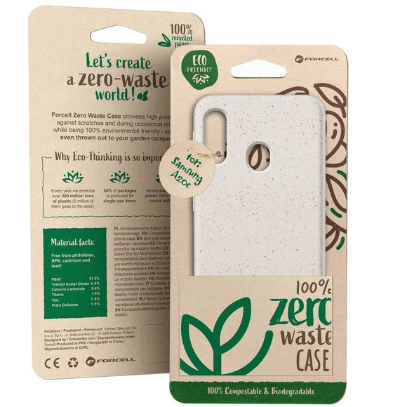 Husa Forcell BIO - Zero Waste Case for SAMSUNG S10 nature - Trendmobile