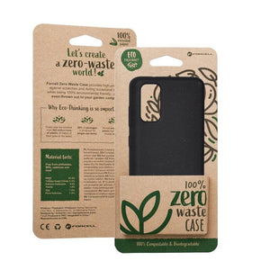 Husa Forcell BIO - Zero Waste Case for SAMSUNG S20 Plus Black - Trendmobile