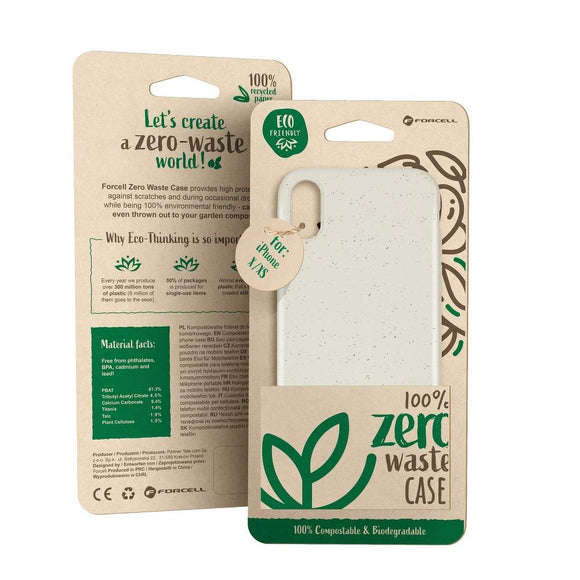 Husa Forcell BIO - Zero Waste Case for SAMSUNG S20 PLUS nature - Trendmobile