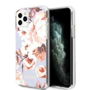Husa Guess iPhone 11 Pro lilac N°2 Flower Collection - Trendmobile