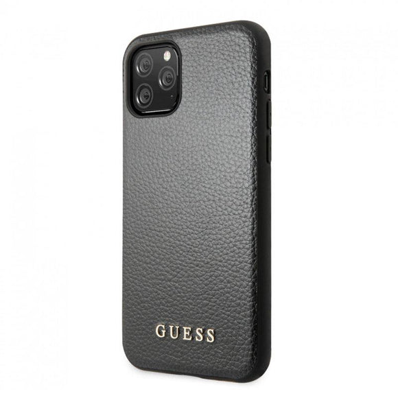 Husa Guess iPhone 11 Pro Max Black Leather - Trendmobile