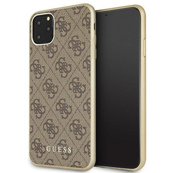 Husa Guess iPhone 11 Pro Max brown hard case - Trendmobile