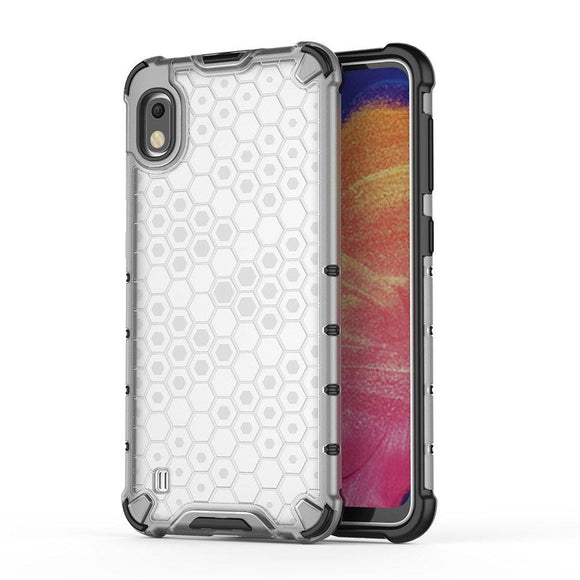 Husa Honeycomb Samsung Galaxy A10 Transparent - Trendmobile