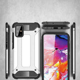 Husa Hybrid Armor Case Tough Rugged Cover for Samsung Galaxy S10 Lite black - Trendmobile