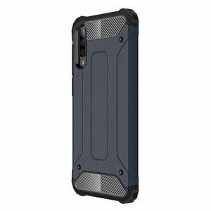 Husa Hybrid Armor Case Tough Rugged Cover pentru Samsung Galaxy A50 Blue - Trendmobile