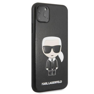 Husa KARL LAGERFELD HARD CASE ICONIC IPHONE 11 PRO MAX BLACK - Trendmobile