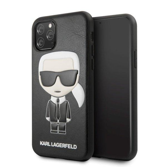 Husa Karl Lagerfeld iPhone 11 Pro hardcase Iconic Karl Embossed - Trendmobile