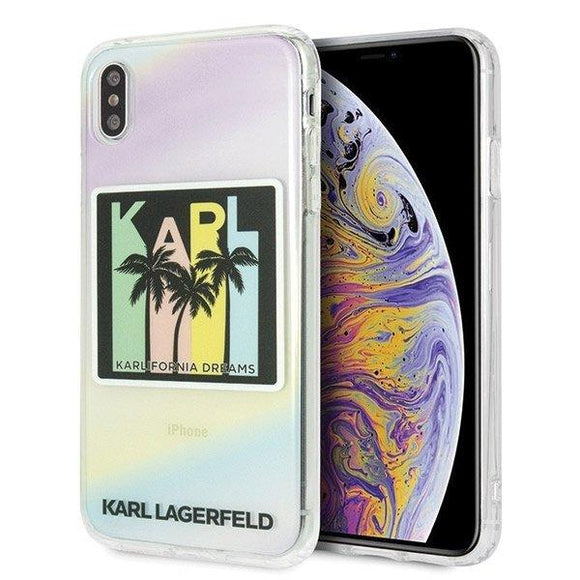 Husa Karl Lagerfeld iPhone Xs Max hardcase Kalifornia Dreams - Trendmobile