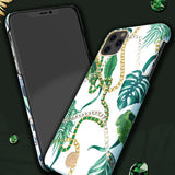 Husa Kingxbar cu  Cristale Swarovski Luxury Series pentru  iPhone 11 Pro Green - Trendmobile
