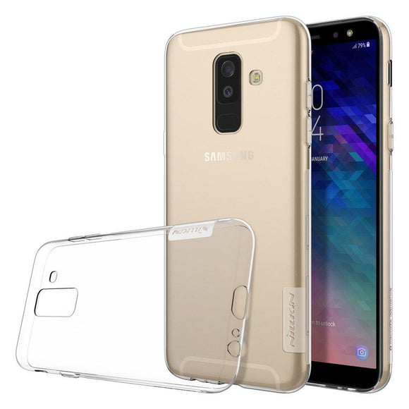 Husa Nillkin Nature TPU Samsung Galaxy A6 Plus 2018 Transparent - Trendmobile