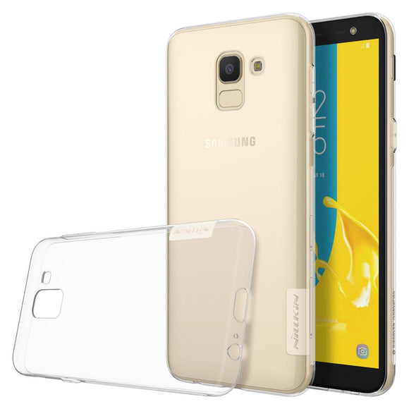 Husa Nillkin Nature TPU Samsung Galaxy J6  2018 Transparent - Trendmobile