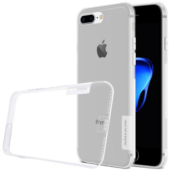 Husa Nillkin Nature Ultra Slim case cover for iPhone 8 Plus / 7 Plus transparent - Trendmobile