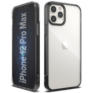 Husa Ringke Fusion PC Case with TPU Bumper for iPhone 12 Pro Max grey - Trendmobile