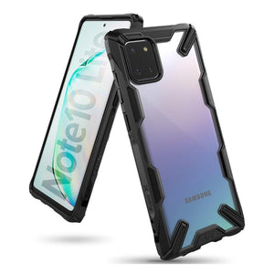 Husa Ringke Fusion X durable PC Case with TPU Bumper for Samsung Galaxy Note 10 Lite black - Trendmobile
