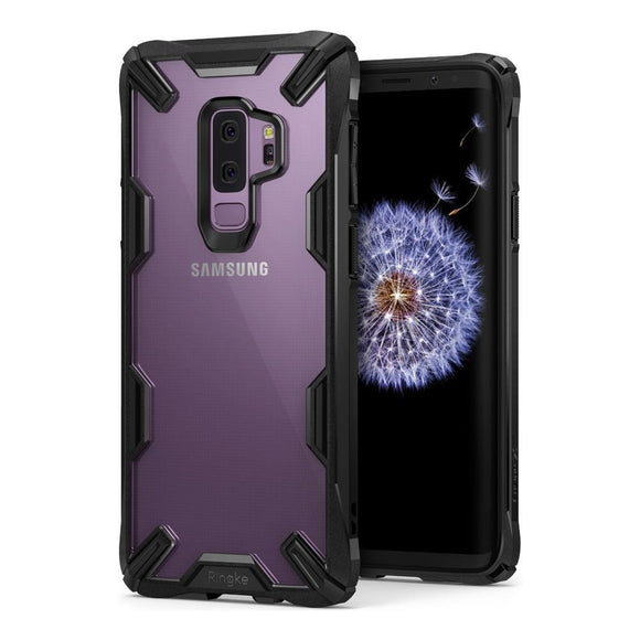 Husa Ringke Fusion X durable PC Case with TPU Bumper for Samsung Galaxy S9 Plus - Trendmobile